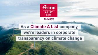 Orkla harvinaisessa A-luokassa yritysten ilmastotyötä arvioivassa raportissa