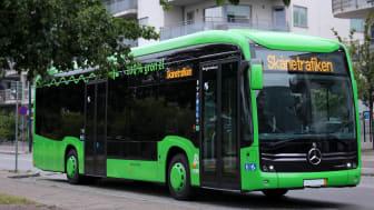 Elbussarna i Ystad och Trelleborg har fått utmärkelsen Blue Angel.