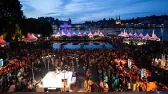 Das Blue Balls Festival in Luzern