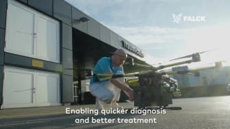 Falck is testing drones for future healthcare