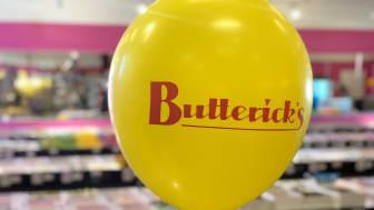 Butterick's öppnar ytterligare en shop-in-shop