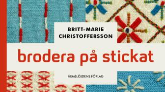 Brodera på stickat, ny bok från Hemslöjdens förlag