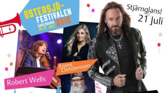 Joacim Cans kommer till Östersjöfestivalen och sprider Stjärnglans