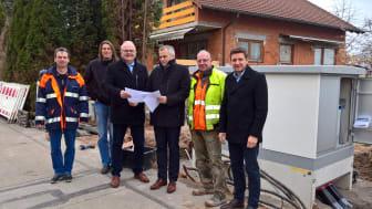 Bayernwerk macht das Stromnetz in Pyrbaum fit für die Zukunft