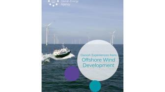 New publication presents Denmark's unique experiences from offshore wind development