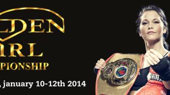 Titeltätt och tuff konkurrens på årets Golden Girl Championship 10-12 januari 2014 Boråshallen