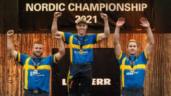 Ferry Svan försvarade Nordiska Mästartiteln i STIHL TIMBERSPORTS® och är därmed kvalificerad till VM