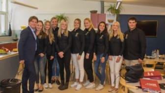 Integrationsministern besökte Sjöbos ungdomsråd