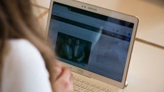 digitalisering skolan, läsplatta