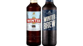 Fuller's Old Winter Ale och nyheten Fuller's Winter Brew