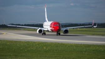 Sterk trafikkvekst og god fylling for Norwegian i juni