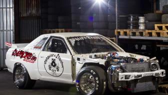 Motorsport på Elmia – 4.000 kvadratmeter extra yta!