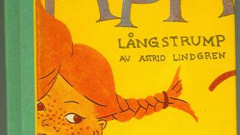 Tidig upplaga av Pippi Långstrump