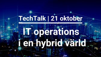 IT operations i en hybrid värld