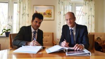 Signering avtal mellan OKG och Cyclife