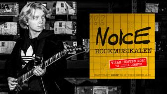 Andreas Palm från Lindesberg med i rockmusikalen Noice i Stockholm