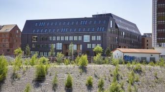 Kontorshuset Origo vinnare av Gröna Lansen 2020