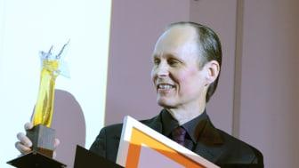 Mottagare av årets Sparbanken Nords Kulturpris är Mikael Niemi.