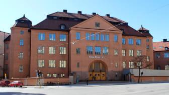 Vasa Real i Stockholm. Skolan står inför en invändig renovering där ursprungliga kvaliteter tas tillvara.