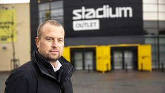 Snart 60 butiker för Stadium Outlet – tre nya under hösten. Foto: Stadium