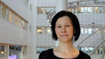 Magdalena Laestander, kurator på BRIS