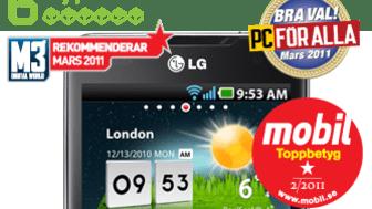 LG Optimus 2X en ny favorit på den nordiska mobilmarknaden