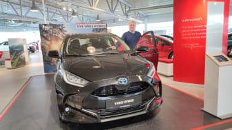 Harstad - Toyota Yaris er Årets Bil 2021.