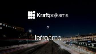 Ferroamp och Kraftpojkarna ingår samarbete