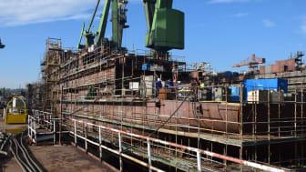 Norske Havyard Ship Technology i Leirvik har designet skibet. Skroget bygges i Gdansk på værftet Nauta Shipyard, og vil i januar 2016 være klar til at blive trukket til Leirvik for udrustning.