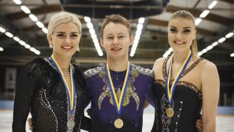Majorov och Helgesson Nordiska mästare i konståkning – alla resultat UNM, JNM, NM (The Nordics)