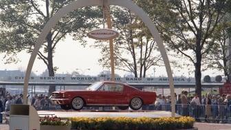 NY Worlds Fair Mustang