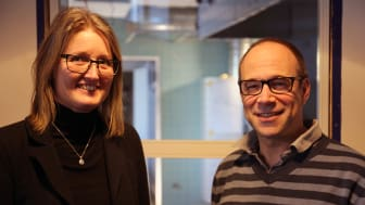 Förskolechef Carola Hagberg och biträdande förvaltningschef på barn och utbildning Erik Eriksson