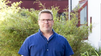 Stefan Andersson, doktor i Vårdvetenskap.