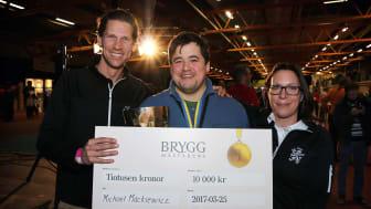 Niklas Nestlander, Michael Mackiewic och Åsa Johansson