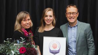 Liselotte Shafiee, Nataly Duyko, and Niklas Börjesson, Sigma Technology. Photo: Universum