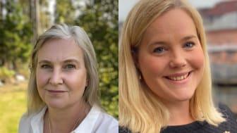 Bilder från vänster: Pia Stoll, SGBC; Gabriella Hagman, Mondo Arkitekter Dalarna. Foto: SGBC och Mondo Arkitekter Dalarna