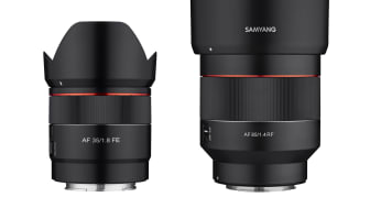 Das Samyang AF 35mm F1,8 FE und AF 85mm F1,4 RF erhalten Firmware-Updates.