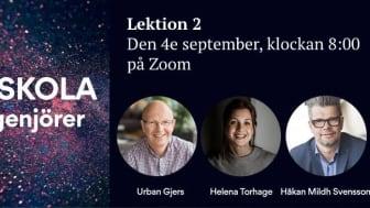 Urban Gjers, Helena Torhage & Håkan Mildh Svensson