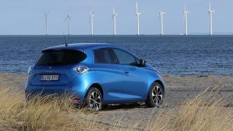 Rekordmåned for Renault Zoe i Danmark