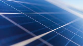 Bild från Shutterstock, solcellsanläggning