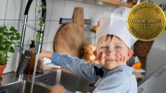 """Serien """"Barn lagar mat"""" är nominerad till Årets kampanj i Tidskriftspriset 2020."""