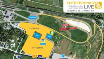 Områdesbild Entreprenad Live 2016