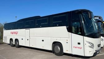 SGS bussen startar upp under nytt namn – Merresor Express