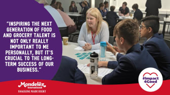 Students from Cleeve School in Cheltenham have been given an insight into how diverse a career in the food industry can be, from engineering and science, to advertising and communications.