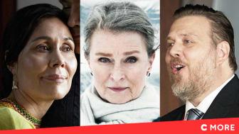 Nukâka Coster-Waldau, Lena Endre og Nicolas Bro kan alle opleves i 'Tynd is', som får premiere på C More i foråret 2020.