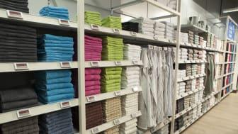 Nytt butikkonsept - Håndklær