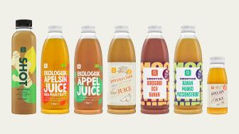 7 nya pantbara juicer & smoothies från Garant