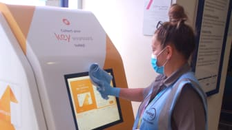 St Albans: Cleaning stations with the 30-day viruscide