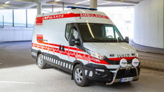 IVECO ambulance in Finland for COVID-19 patients