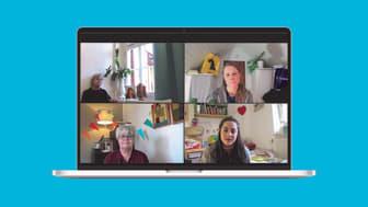 Ulla Tylén, Birgitta Rydberg, Evamaria Björk och Sasha Becker medverkar i relationsdramat Trädgårdsgatan – digital premiär 20 februari.